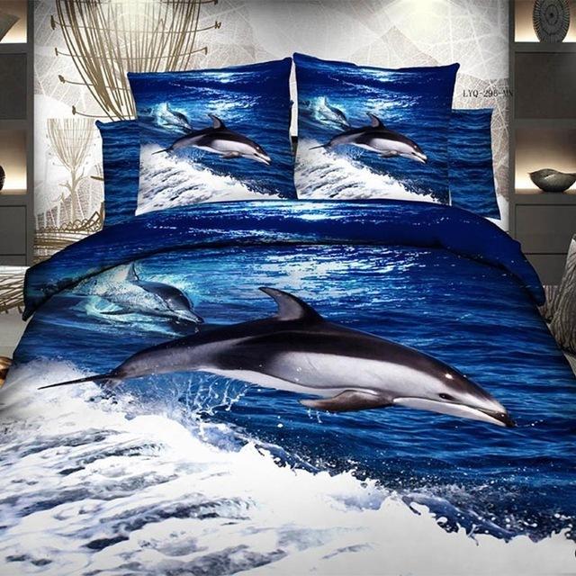 Funda Nordica Delfines.Funda Nordica Con Dibujo De Delfin